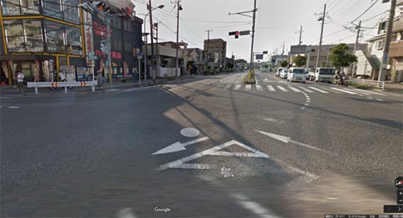 千葉県交通事故多発交差点ワースト1位の相之川交差点