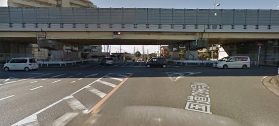 千葉県交通事故多発交差点ワースト2位の下市場交差点