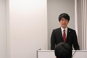 弁護士松本達也のセミナーの様子1